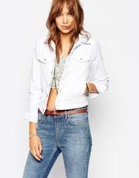 Джинсовая куртка Pepe Jeans - Белый