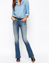 Расклешенные джинсы на молнии G Star Lynn - Синий