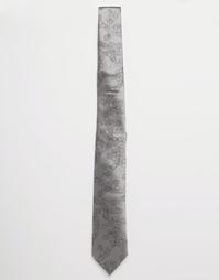 Галстук 7 см с рисунками орбит Vivienne Westwood - Серый