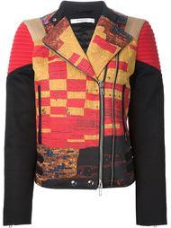 байкерская куртка с узором Givenchy