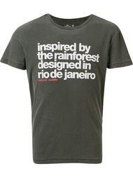 футболка с принтом  Osklen
