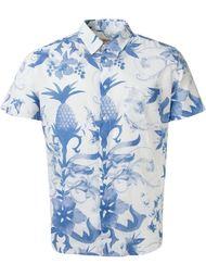 рубашка с принтом ананасов  Osklen