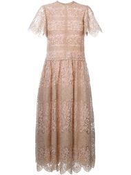 гипюровое вечернее платье  Valentino