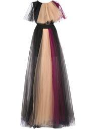 вечернее платье из тюля Christian Siriano