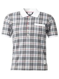 футболка в клетку  Thom Browne