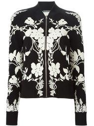 куртка-бомбер с цветочным принтом Alexander McQueen