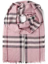 шарф в клетку Burberry