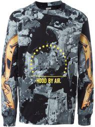 толстовка с принтом Hood By Air