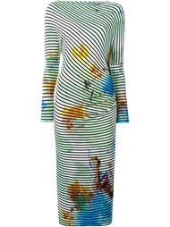 полосатое трикотажное платье Vivienne Westwood Anglomania
