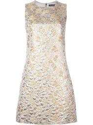 жаккардовое платье без рукавов Dolce & Gabbana