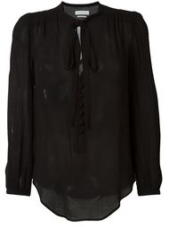 прозрачная блузка Isabel Marant Étoile