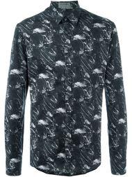 рубашка с принтом  Les Hommes Urban