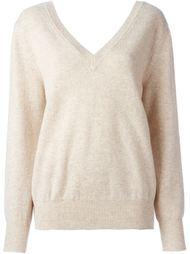 свитер c V-образным вырезом  Victoria Beckham