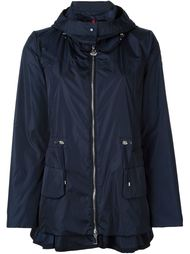 пальто с оборным подолом  Moncler