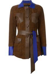 куртка с накладными карманами Blancha