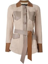 куртка с поясом  Blancha