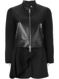 куртка с контрастными рукавами  Neil Barrett
