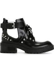 ботинки с вырезными деталями Kenzo