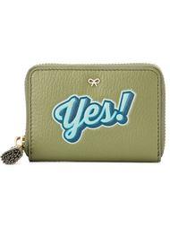 кошелек на молнии 'Yes!'  Anya Hindmarch