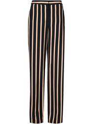 полосатые широкие брюки  Emanuel Ungaro
