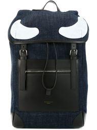 джинсовы рюкзак с панельным дизайном  Givenchy
