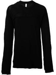 свитер с круглым вырезом  Damir Doma
