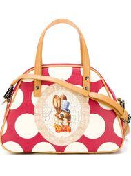 сумка-тоут  с принтом кролика Vivienne Westwood