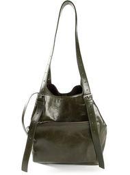 сумка на плечо с карманом Mm6 Maison Margiela
