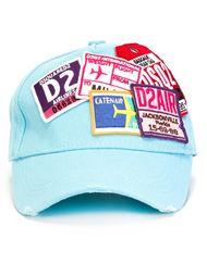 бейсбольная кепка с нашивками Dsquared2