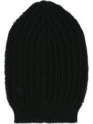 вязаная шапка мешковатого кроя Rick Owens