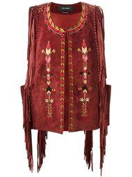 жилетка с вышивкой в этническом стиле Isabel Marant
