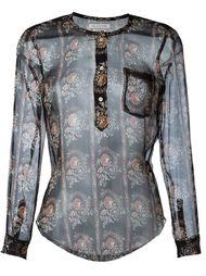 полупрозрачная блузка 'Soris' Isabel Marant Étoile
