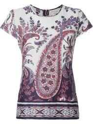 """футболка с принтом """"пейсли"""" Isabel Marant Étoile"""