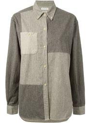 рубашка с геометрическими панелями Isabel Marant Étoile