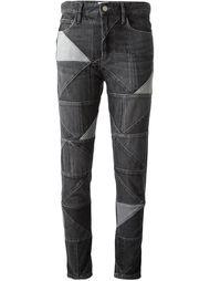 джинсы в стиле пэчворк Isabel Marant Étoile
