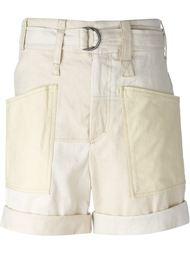 шорты-бермуды с накладными карманами Isabel Marant
