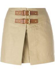 юбка с ремешками на пряжках Isabel Marant