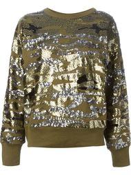 свитер с пайетками Isabel Marant