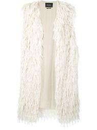 пальто без рукавов с бахромой  Isabel Marant