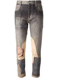 джинсы с принтом Isabel Marant