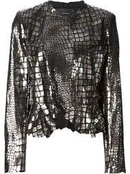 куртка в стиле металлик Isabel Marant