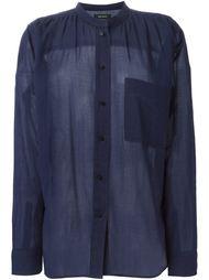 рубашка с воротником-мандарин  Isabel Marant