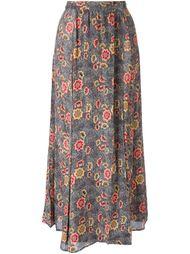 юбка с цветочным принтом  Isabel Marant Étoile