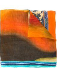 шарф с принтом тукана Etro