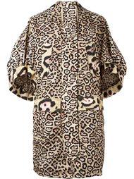 пальто с леопардовым принтом  Givenchy
