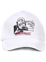 бейсбольная кепка 'Graffiti'  Dsquared2