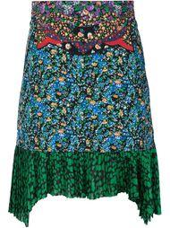 юбка с цветочной аппликацией Coach 1941
