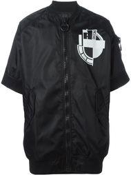 куртка-бомбер с короткими рукавами  KTZ