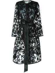 прозрачное пальто  Comme Des Garçons Noir Kei Ninomiya