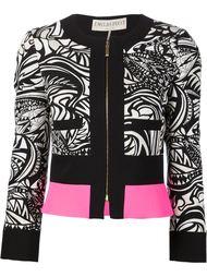 жаккардовый пиджак на молнии Emilio Pucci